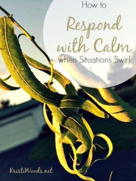Respond with Calm