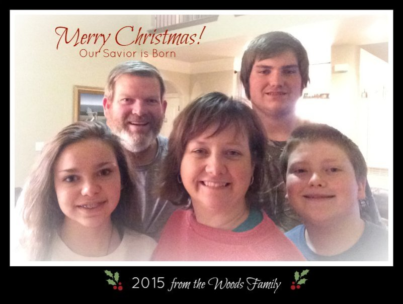 Christmas card online 2015