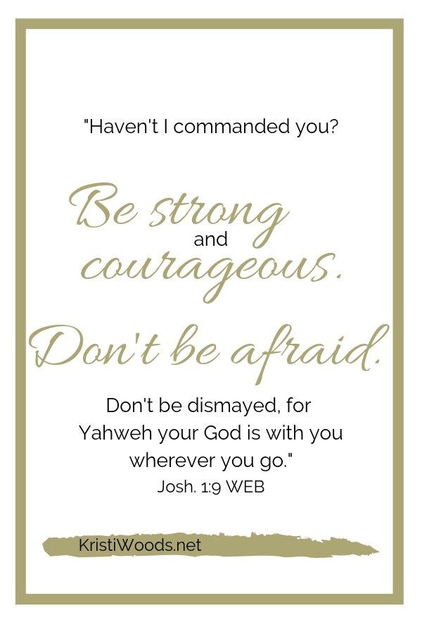 Josh. 1:9