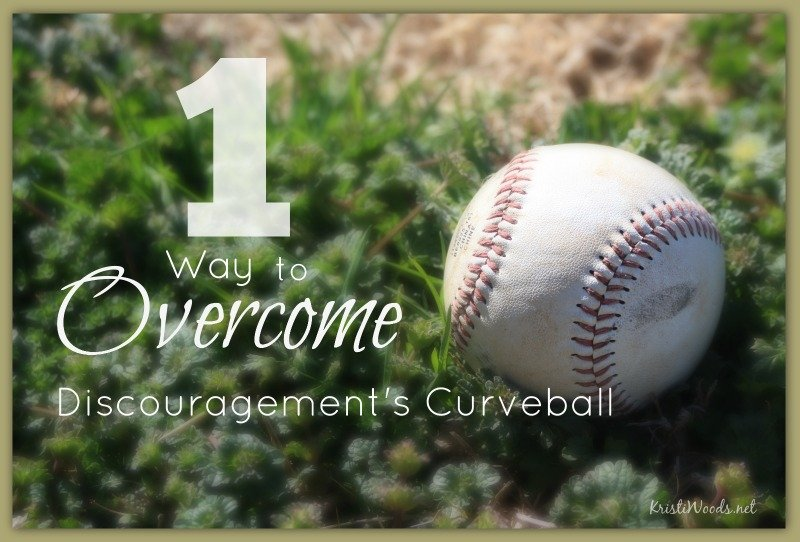 1 Way to Overcome Discouragement