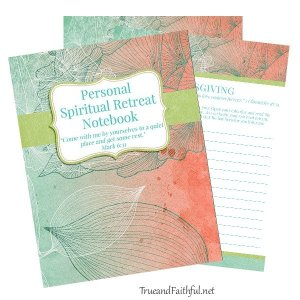 Personal Spiritual Retreat Notebook