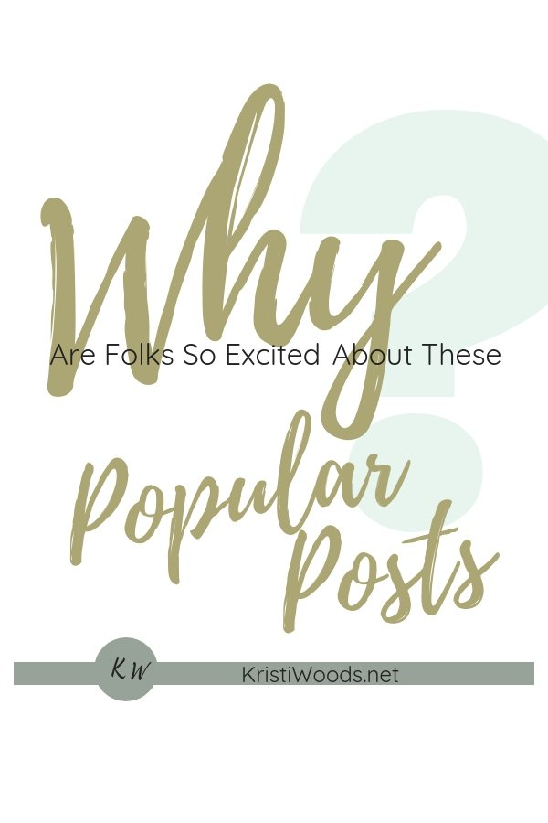 Why Are Folks So Excited About These Popular Posts?