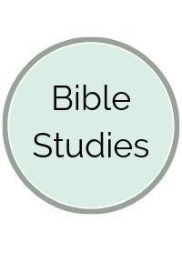Light green circle with Bible Studies written on it