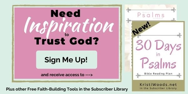 copies of Psalms Bible Reading Plan with Sign-up Title