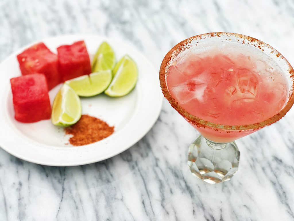 Easy Watermelon Margaritas