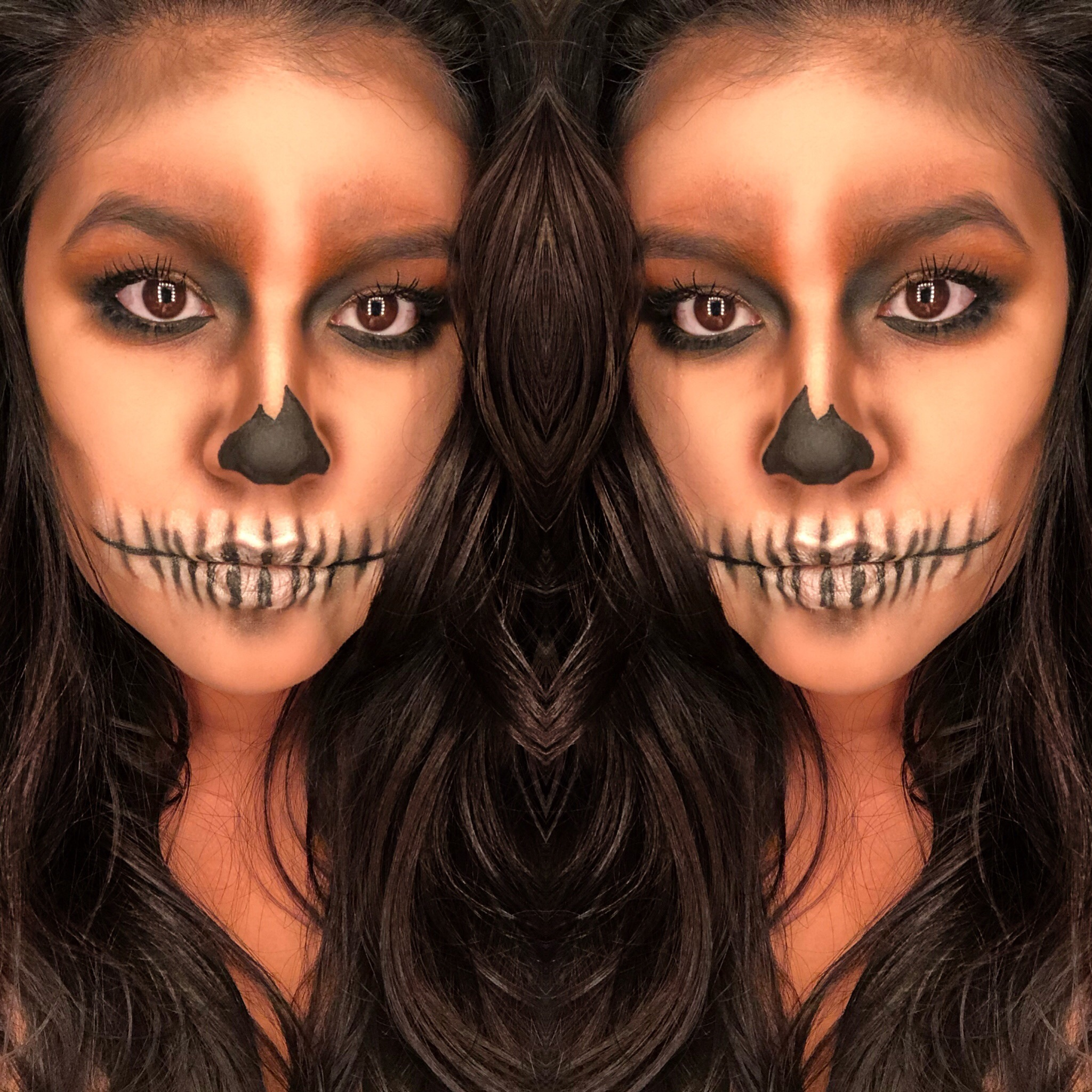 Simple Halloween Makeup