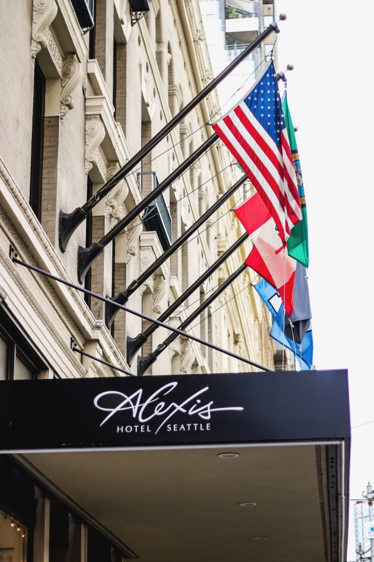 Date Your Spouse / Seattle Stay-cation Kimpton Alexis Hotel