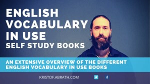 English Vocabulary in Use Self study books