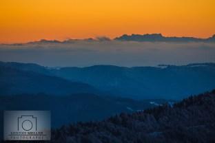 Vom Schwarzwald bis zu den Alpen