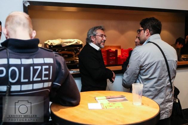 Can Dündar im Werkraum Schöpflin in Lörrach-Brombach