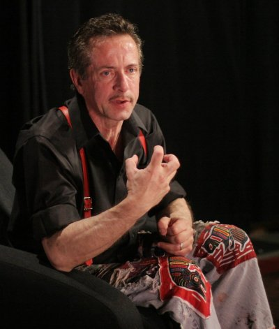 The Hellbound Heart author, Clive Barker
