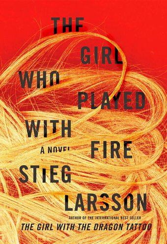 The Girl Who Played With Fire by Stieg Larsson Book Cover
