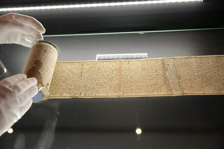 Original 12-meter-long parchment strip
