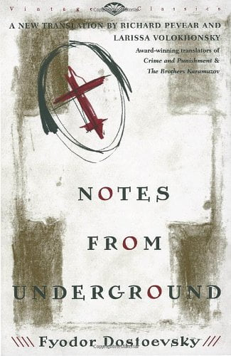 Notes from the Underground by Fyodor Dostoyevsky Book Cover