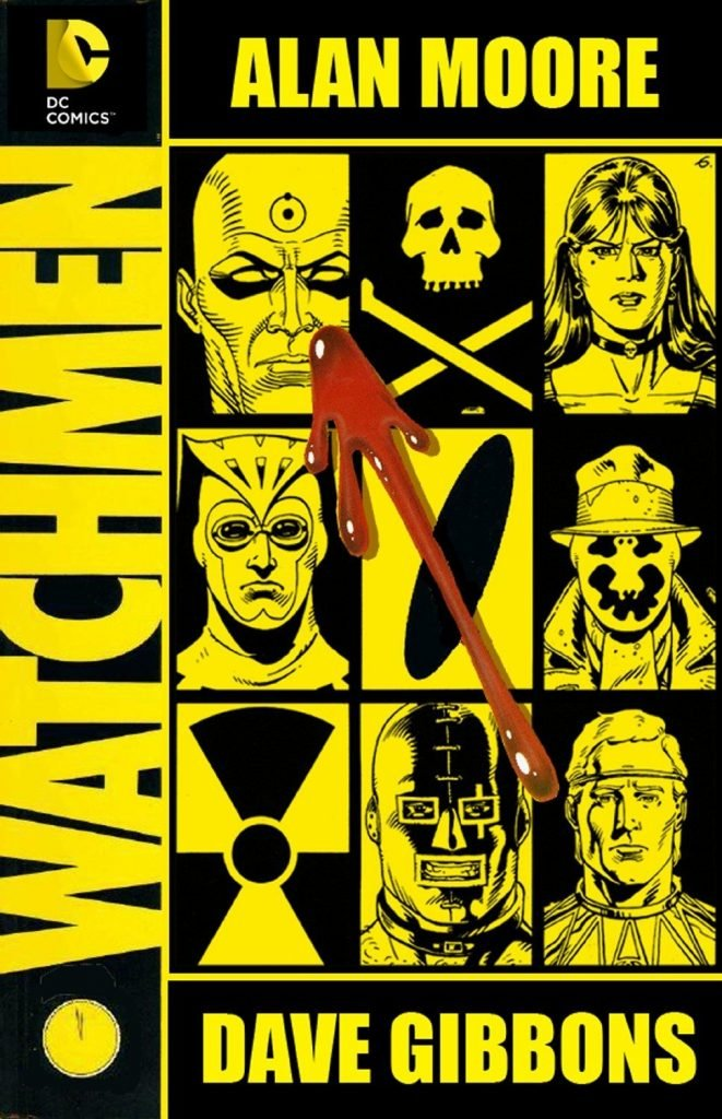 Watchmen by Alan Moore Book Cover