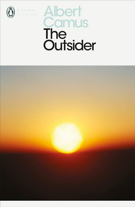 The Outsider by Albert Camus - Book Cover