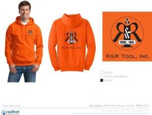 31290 RR Safety Orange Hoodie Art
