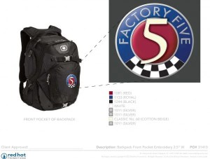 31410 factory five backpack art
