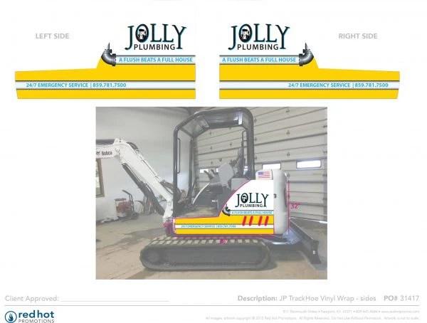 31417 Jolly TrackHoe wrap sides
