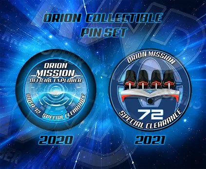 Orion Collectible Pin Set
