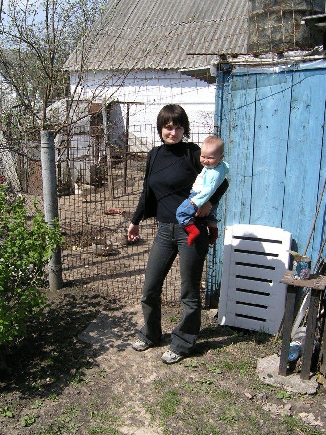 Krisina with mom