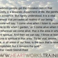 Spirituality Penthouse