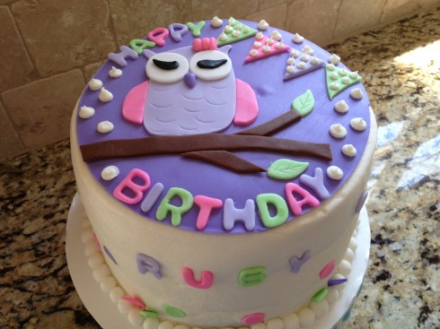 Deidre Anderson made this cake for Ruby to have on her birthday!