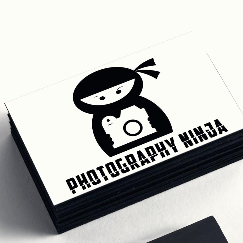 Photography Ninja business card