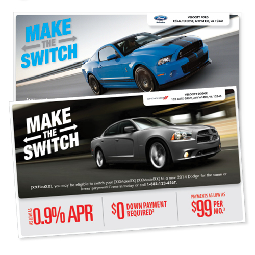 Direct Mail Campaign Logo and Layout