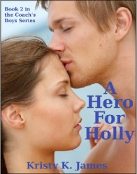 Holly-cover for website and blog