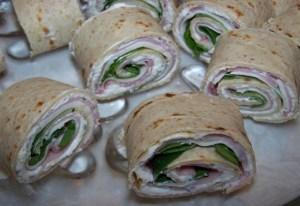 Kristy K. James-sandwich wraps