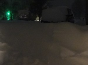 Deep snow 1-5-14