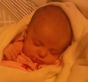 Aria sleeping 6-30