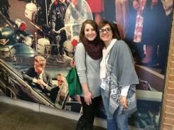Me and Hannah at JFK