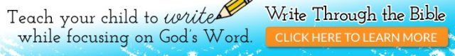 Why We Chose Write Through the Bible for our Scripture Copywork