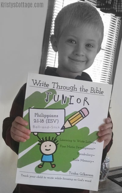 Why We Chose Write Through the Bible for our Scripture Copywork Curriculum   Kristy's Cottage blog