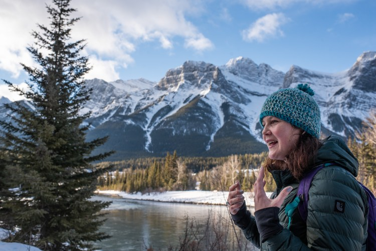 A rare disease mom describes what it is like to care for her daughter while walking in Canmore, Alberta.