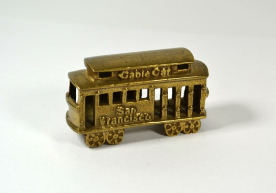 Vintage Brass San Francisco Cable Car Souvenir $25.00