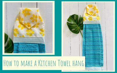 Kitchen Towel Hang
