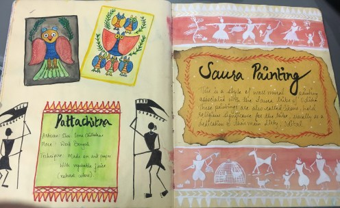 Pattachitra and Saura paintings are amongst the art that i enquired about in the museum.