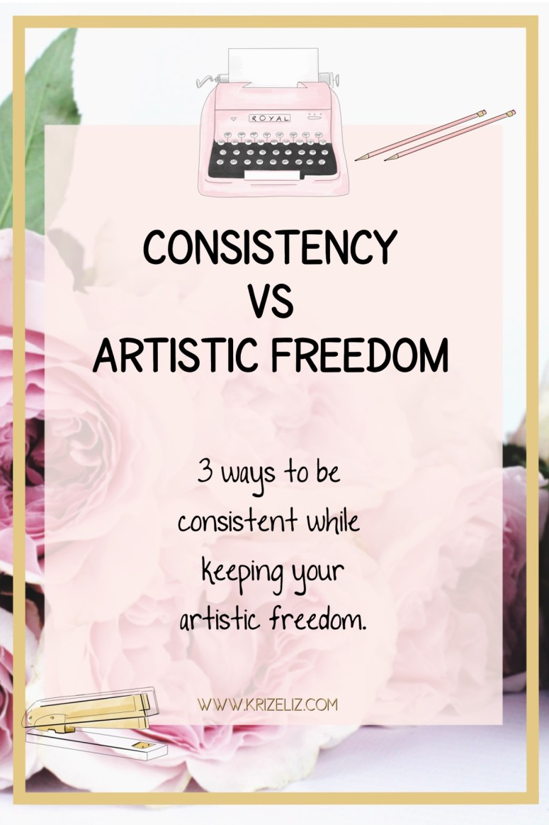 3 Ways to be Consistent while keeping artistic freedom