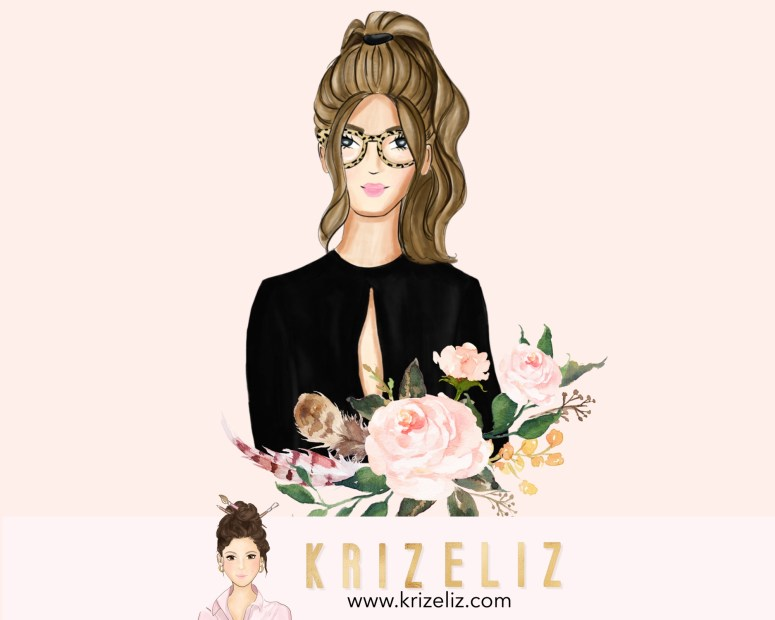 Kriz Eliz Chic Illustrations