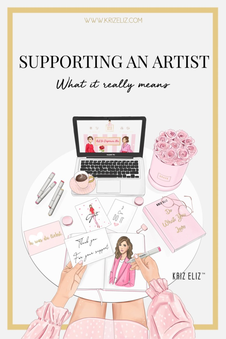 What it mean to support an artist
