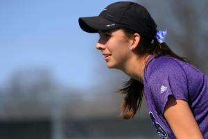 Krizia freshman tennis smile