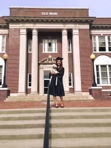 Krizia Max Old Main graduation