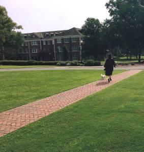 Krizia Max walk graduation