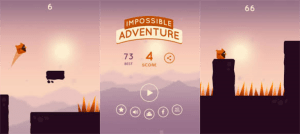 Impossible Adventure - screens from the game
