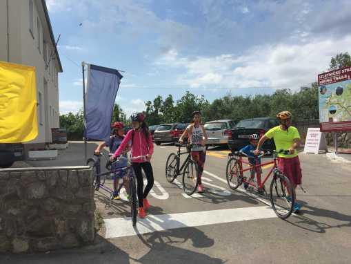 Kerékpár túrák a Soline öböl körül