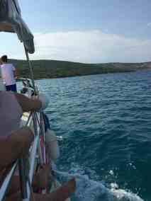 Látkép a hajóból