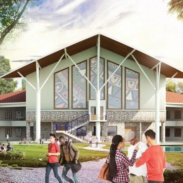 Braeburn International School in Garden Estate, KS3- Theatre block & new classrooms